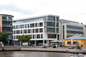 Halden Brygge ligger rett ved Gjestehavna