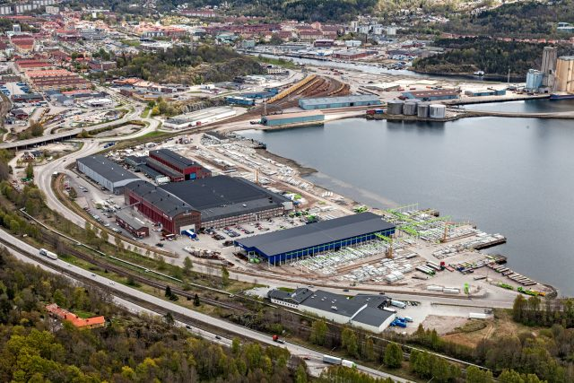 Kasens industriområde, Uddevalla