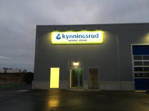 Byggmax och Nordic Crane Kynningsrud AB är hyresgäster i Falkenberg